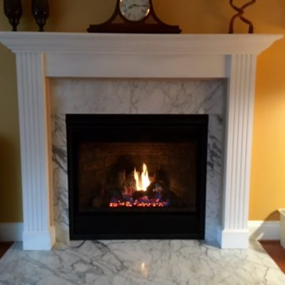 custom fireplace mantels camden county nj