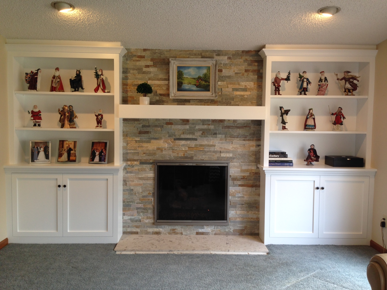 gallery rettinger fireplace