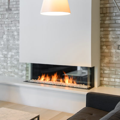 Linear Gas Fireplace >> Gas Fireplaces Contemporary Linear Gas Fireplace